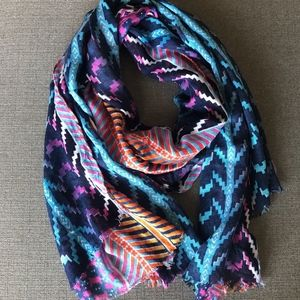 Women's Multi-Color Scarf